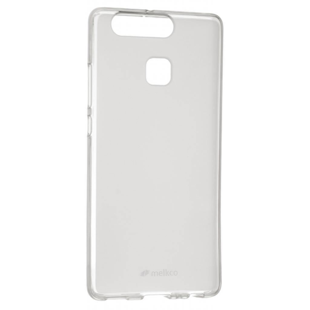 Чехол для моб. телефона Melkco для Huawei P9 - DP (TPU + 9H Glass) Transparent (6284986)