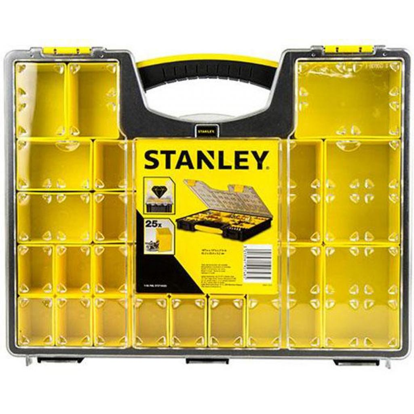 Ящик для инструментов Stanley органайзер профессиональный (422х52х334 мм) (1-92-748)