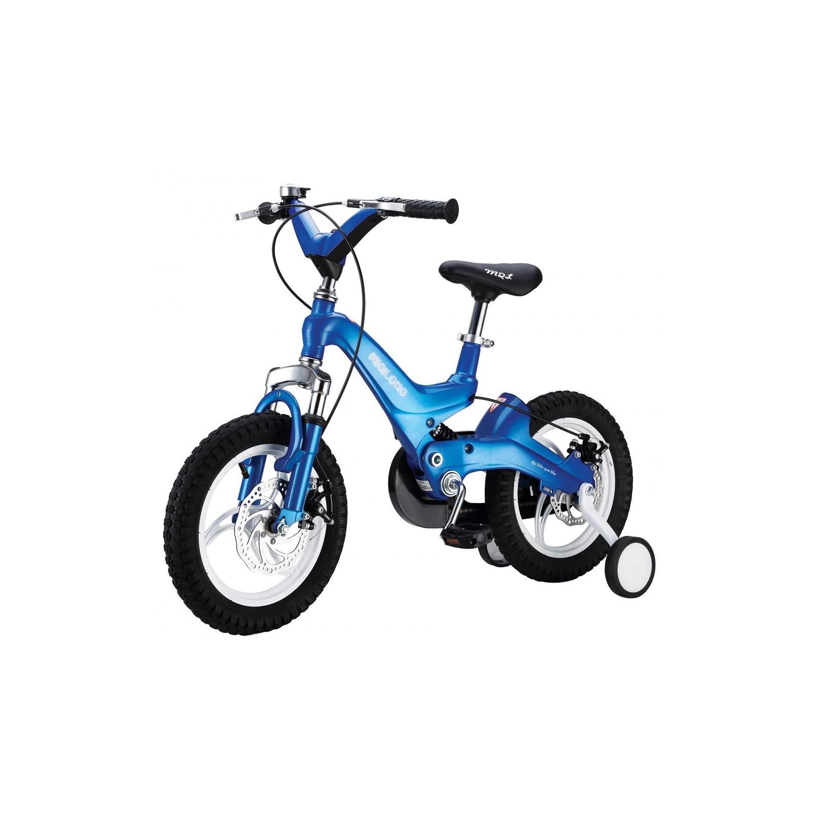 Детский велосипед Miqilong JZB Синий 16` (MQL-JZB16-Blue)