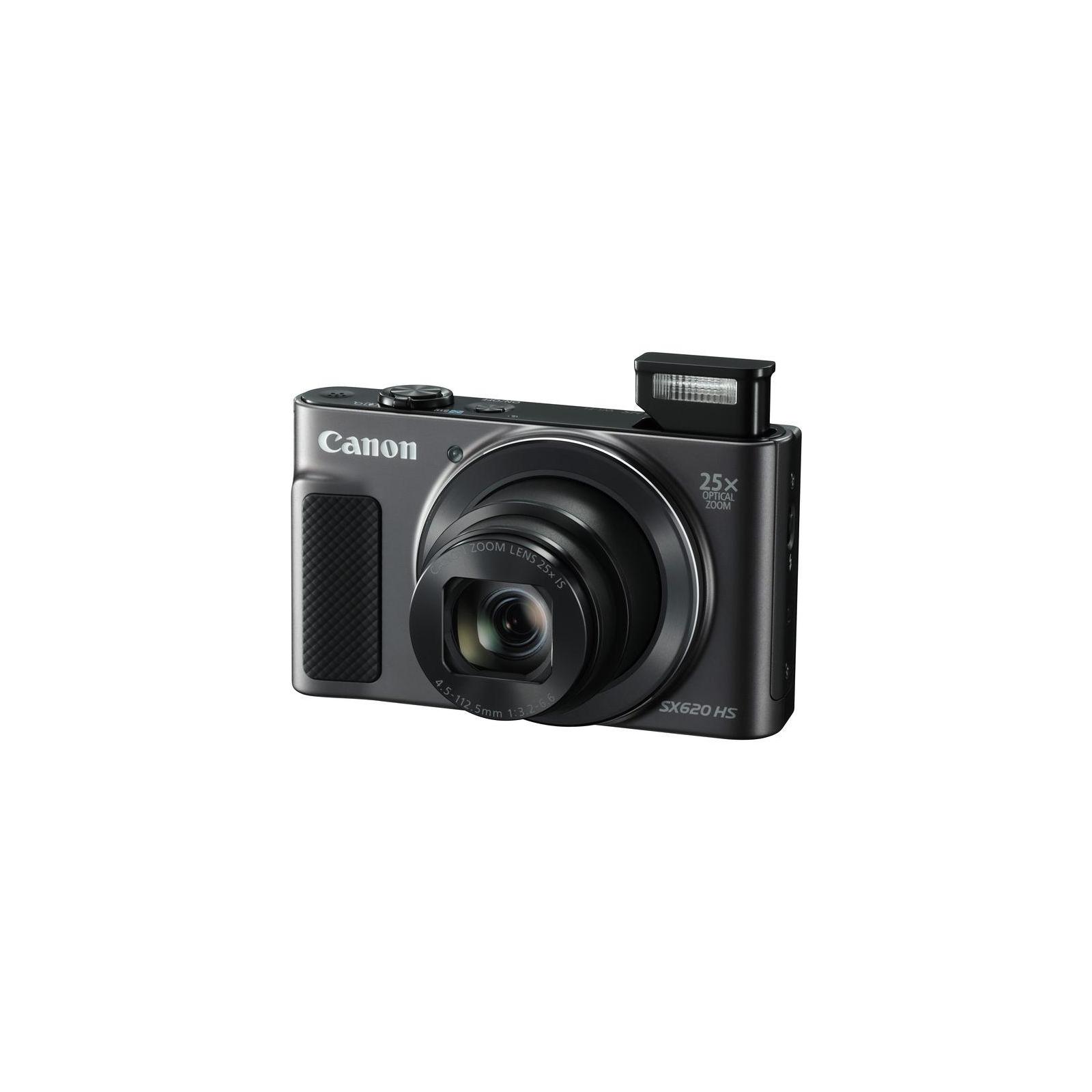 Цифровий фотоапарат Canon Powershot SX620 HS Black (1072C014) зображення 10