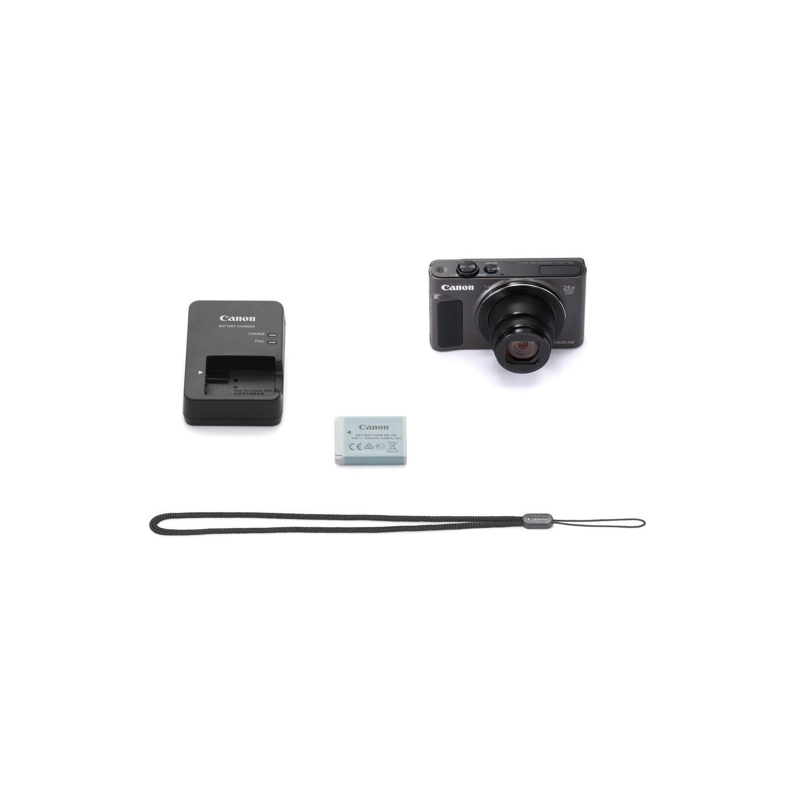 Цифровий фотоапарат Canon Powershot SX620 HS Black (1072C014) зображення 11