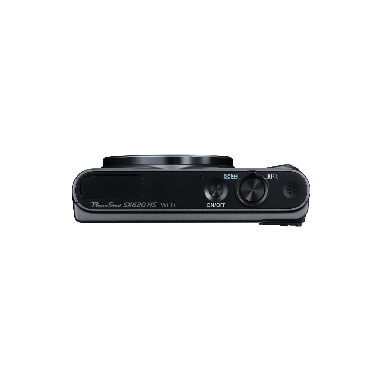 Цифровий фотоапарат Canon Powershot SX620 HS Black (1072C014) зображення 6
