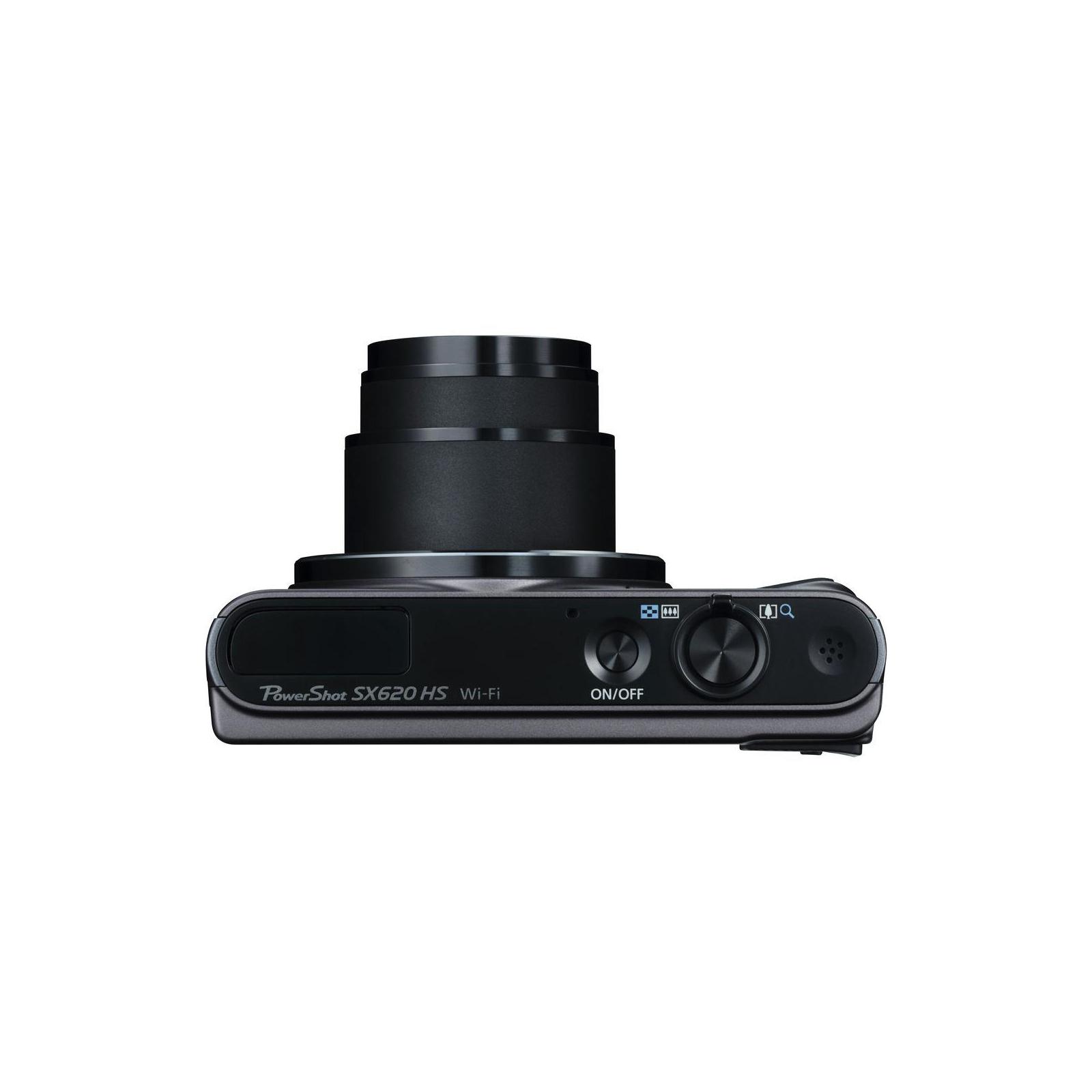Цифровий фотоапарат Canon Powershot SX620 HS Black (1072C014) зображення 7