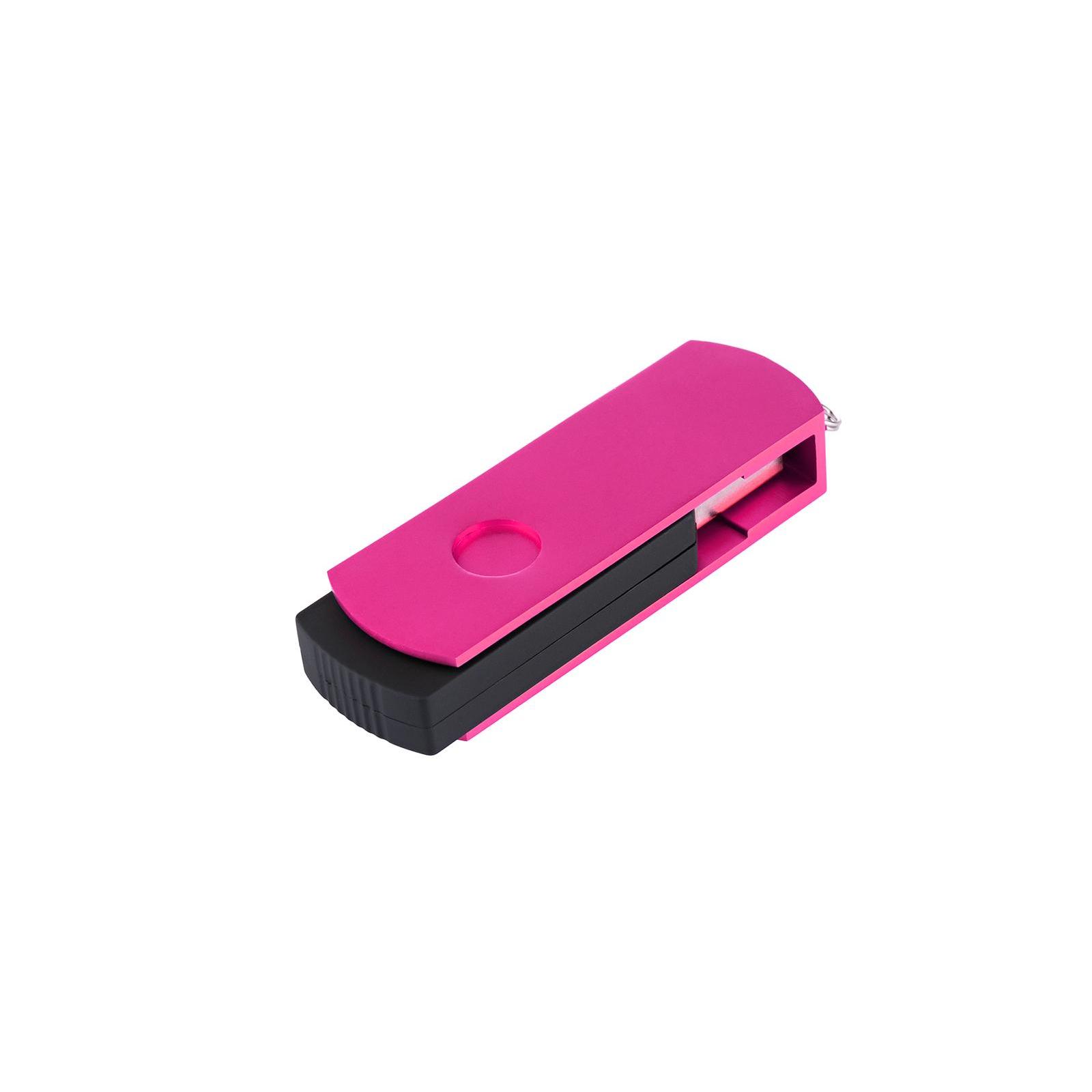 USB флеш накопитель eXceleram 8GB P2 Series Rose/Black USB 2.0 (EXP2U2ROB08) изображение 6