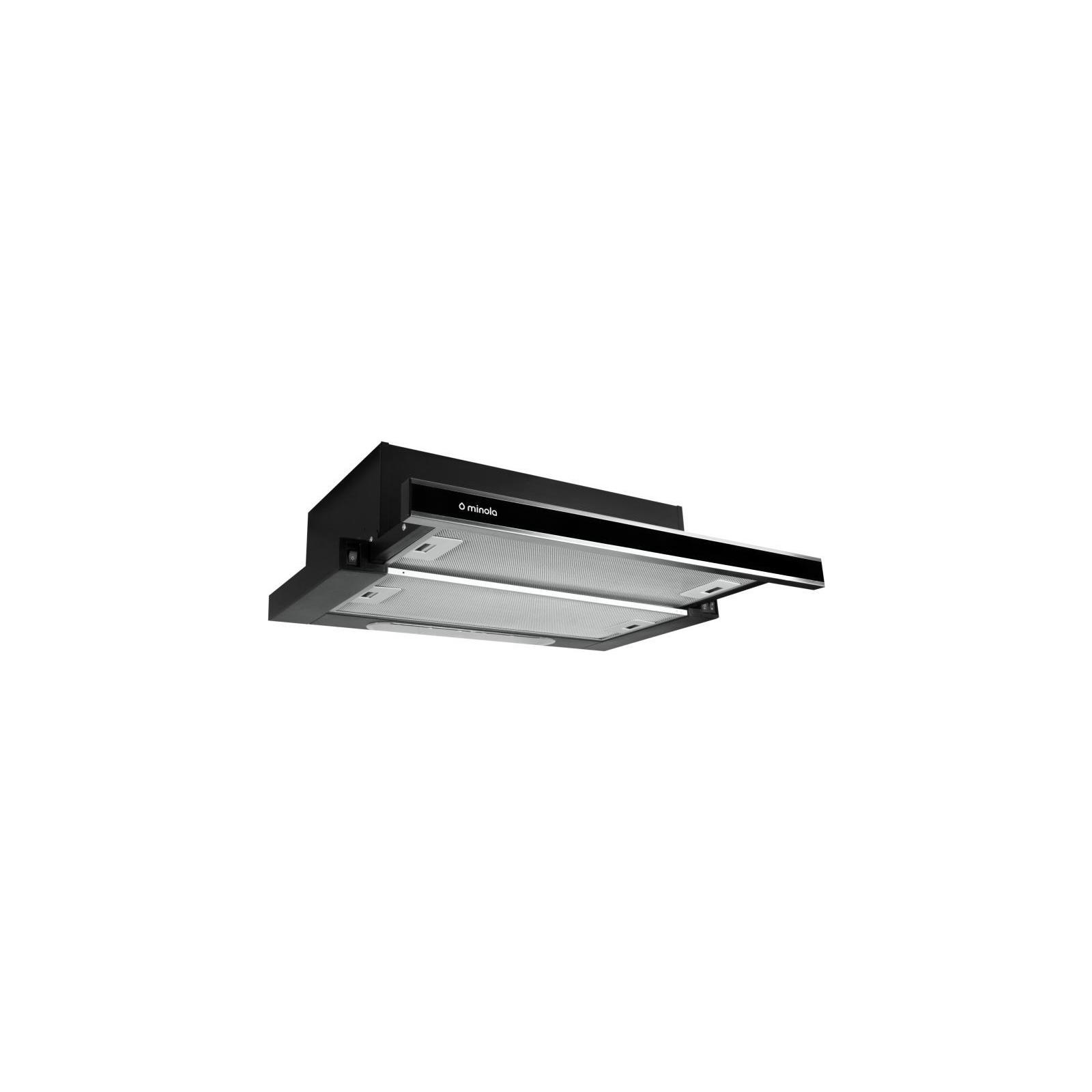 Вытяжка кухонная MINOLA HTL 6160 I/ BL GLASS 630