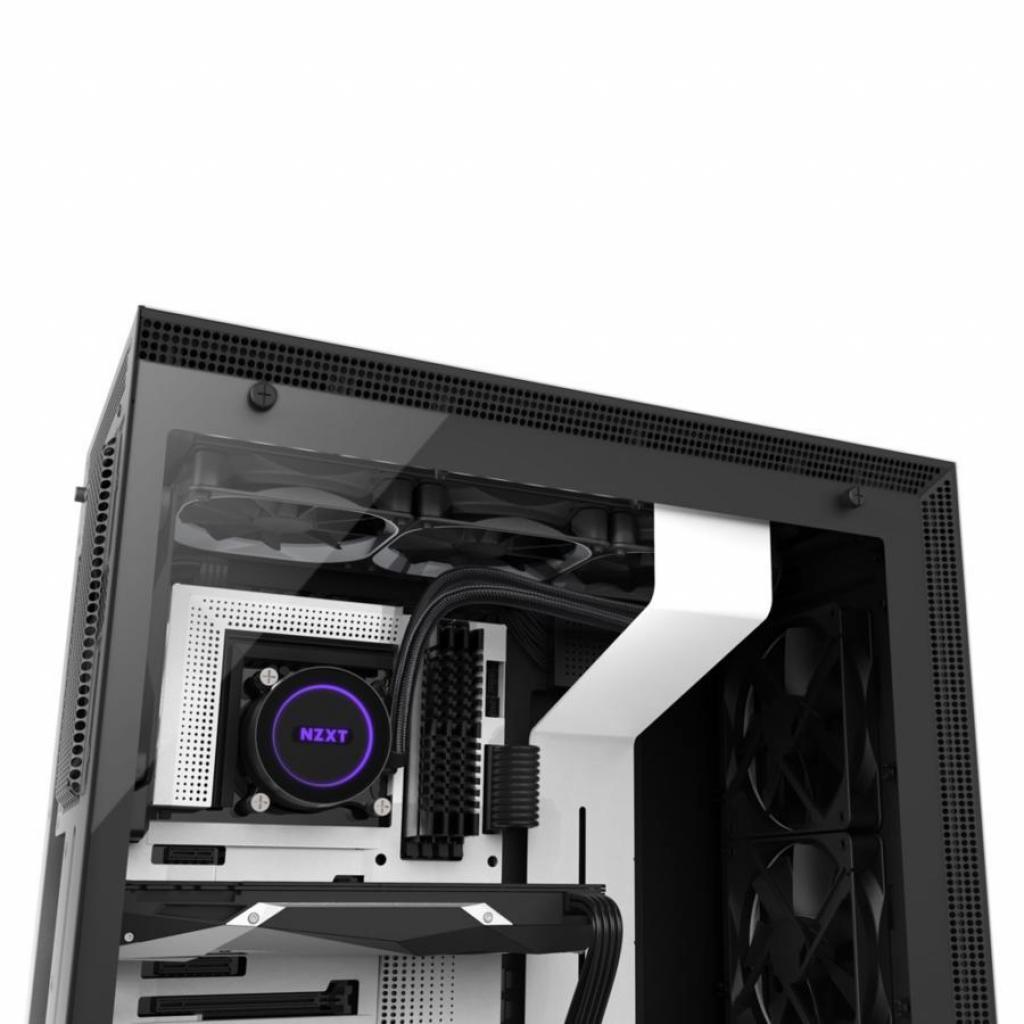 Кулер для процессора NZXT KRAKEN X72 LIQUID COOLER (RL-KRX72-01) изображение 7