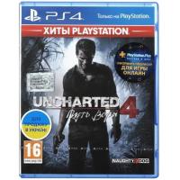 Игра SONY Uncharted4:Путь вора[PS4,Russianversion] Blu-rayдиск (9420378)