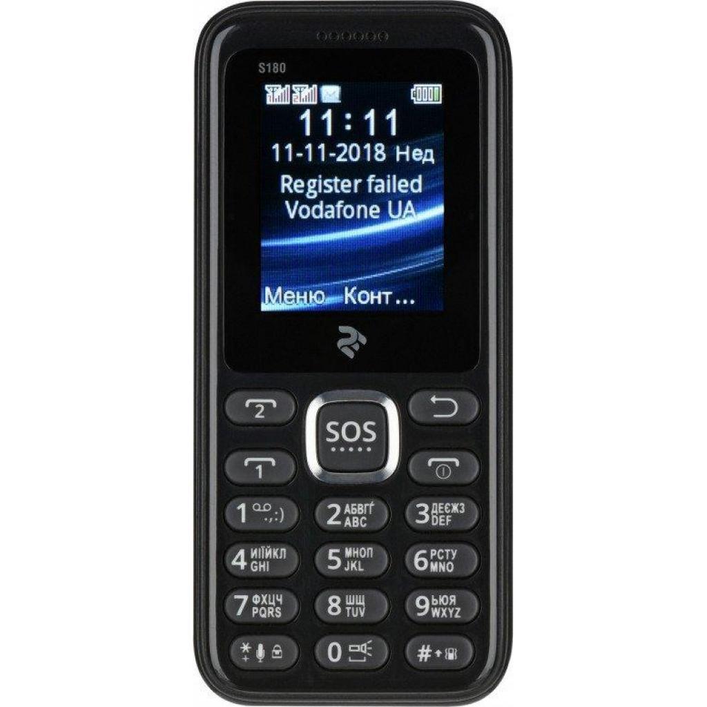 Мобильный телефон 2E S180 Red (680051628660)