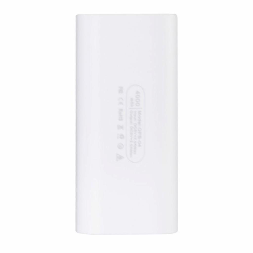 Батарея универсальная Optima OPB-4 4000mAh White (69936) изображение 3