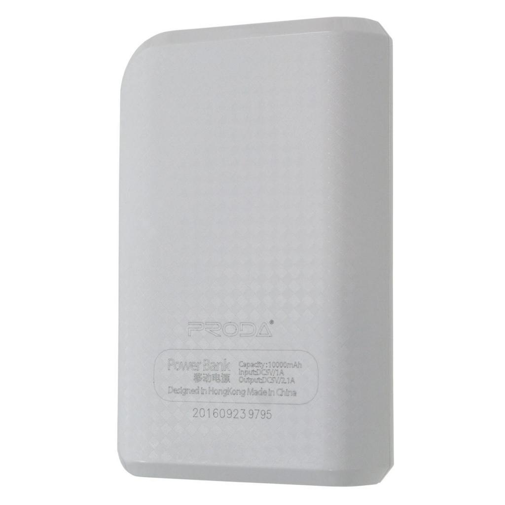 Батарея универсальная Remax Proda Series 10000mAh 2USB-1A&2A black (PPL-11-BLACK) изображение 3