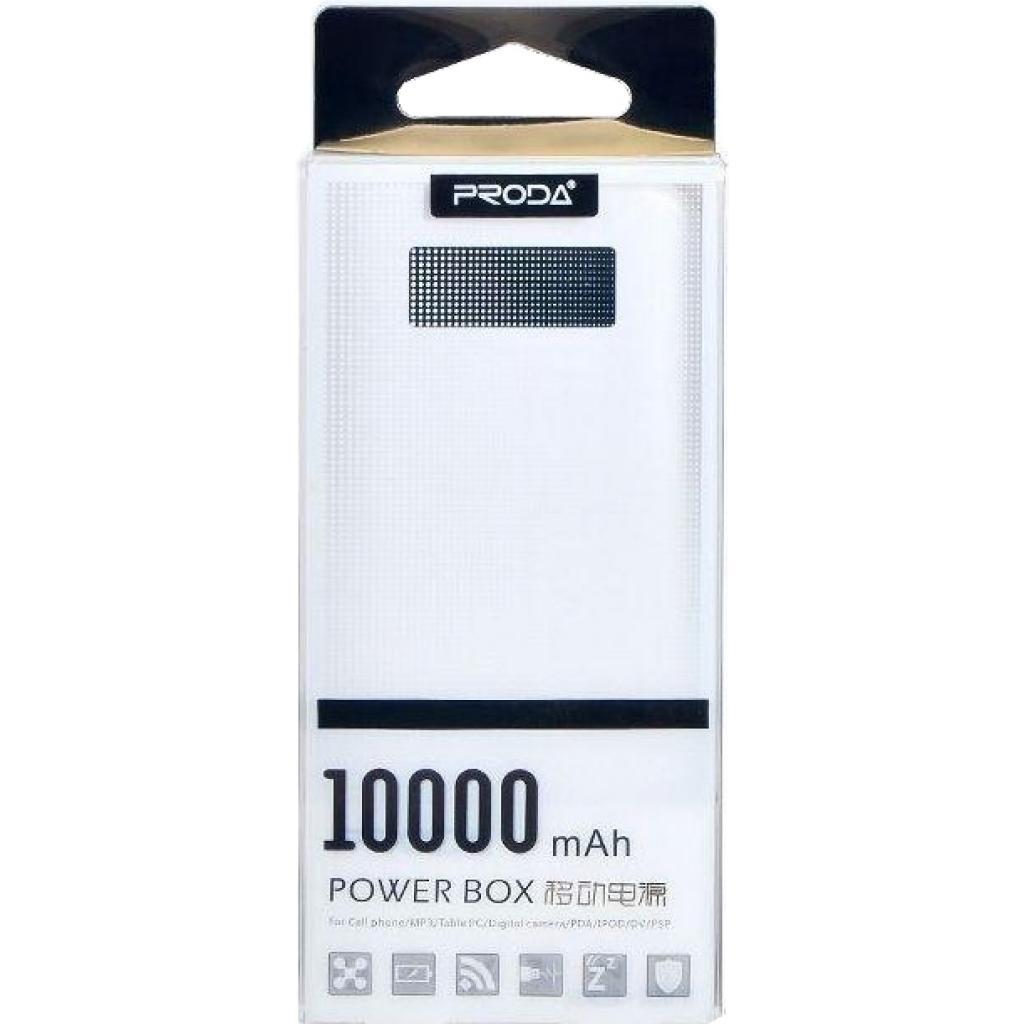 Батарея универсальная Remax Proda Series 10000mAh 2USB-1A&2A black (PPL-11-BLACK) изображение 6