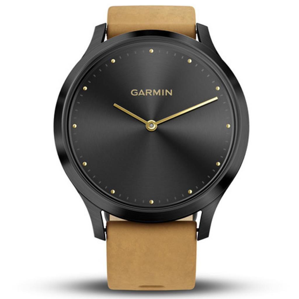 Смарт-часы Garmin Vivomove HR Premium Black/ Silver Large (010-01850-A4) изображение 2