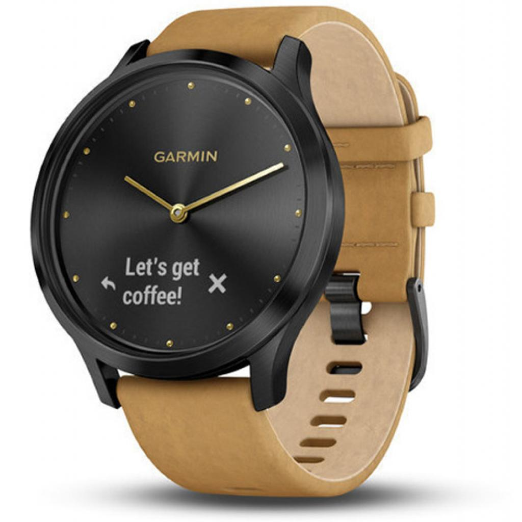 Смарт-часы Garmin Vivomove HR Premium Black/ Silver Large (010-01850-A4)