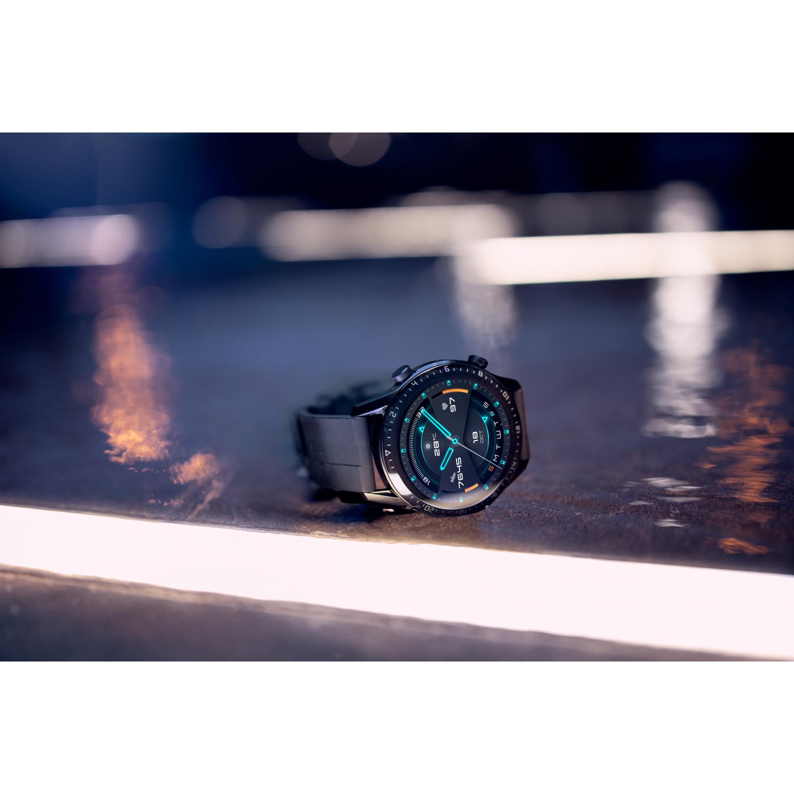 Смарт-часы Huawei Watch GT 2 46mm Classic Silver BROWN шкіра (Latona-B19V) (55024470) изображение 9