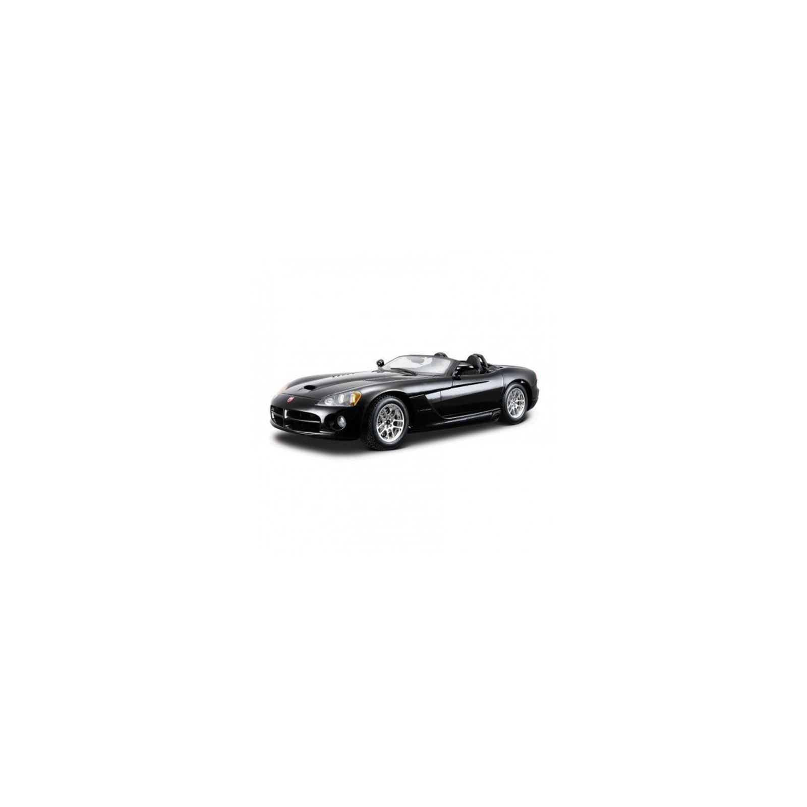 Машина Maisto Dodge Viper SRT-10 (1:24) черный (31232 black)