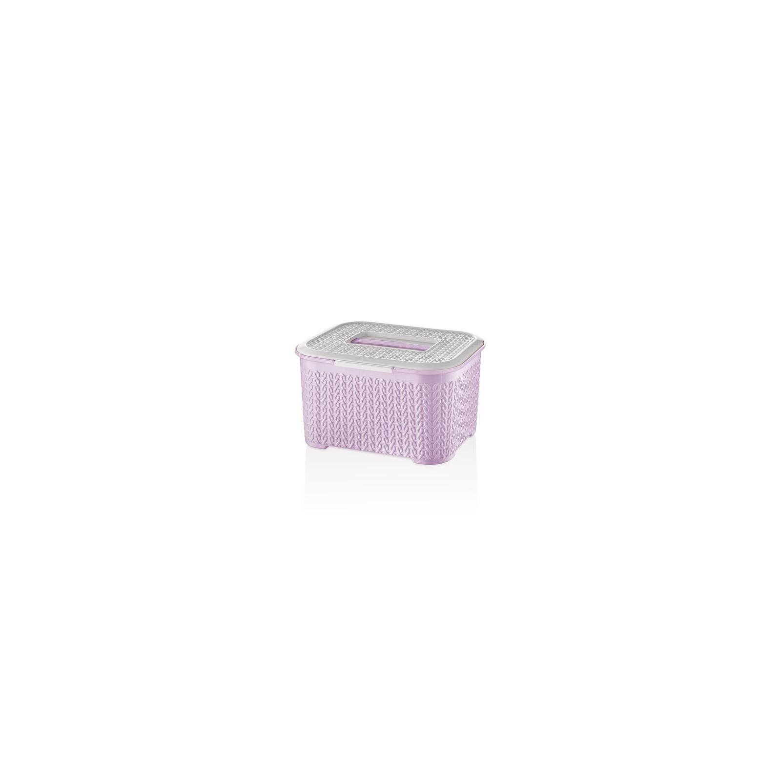 Пищевой контейнер Bager Bella 4 л Violet (BG-461 L)