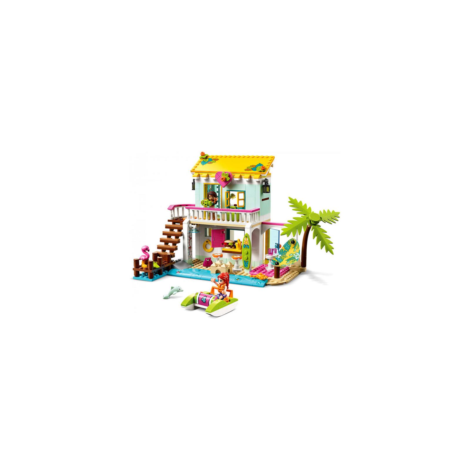 Конструктор LEGO Friends Пляжный домик 444 детали (41428) изображение 2