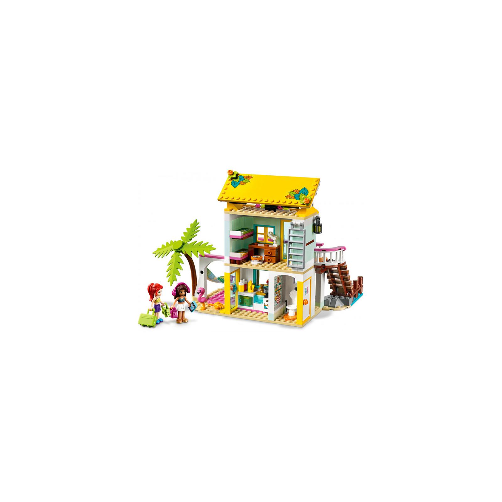 Конструктор LEGO Friends Пляжный домик 444 детали (41428) изображение 3