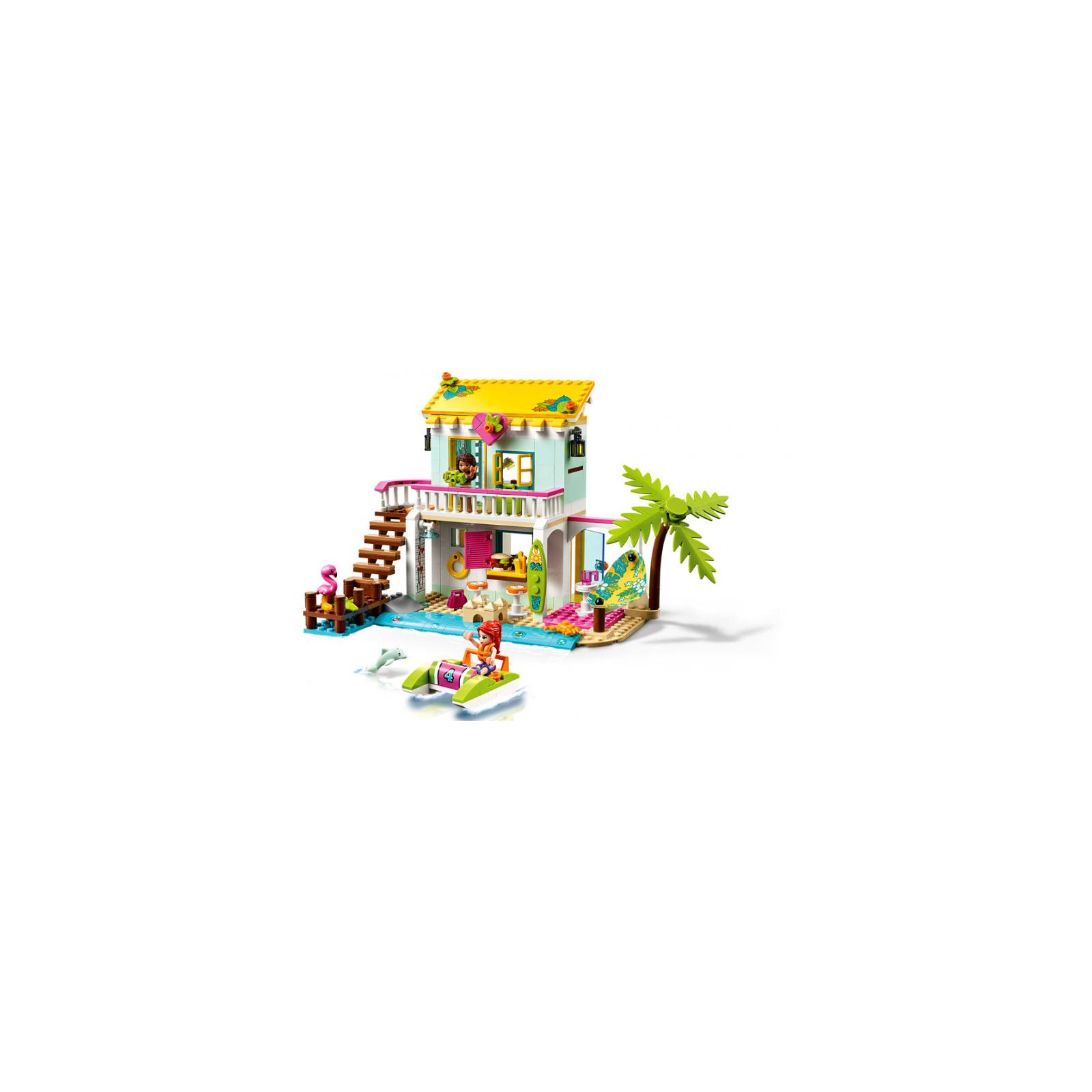 Конструктор LEGO Friends Пляжный домик 444 детали (41428) изображение 4