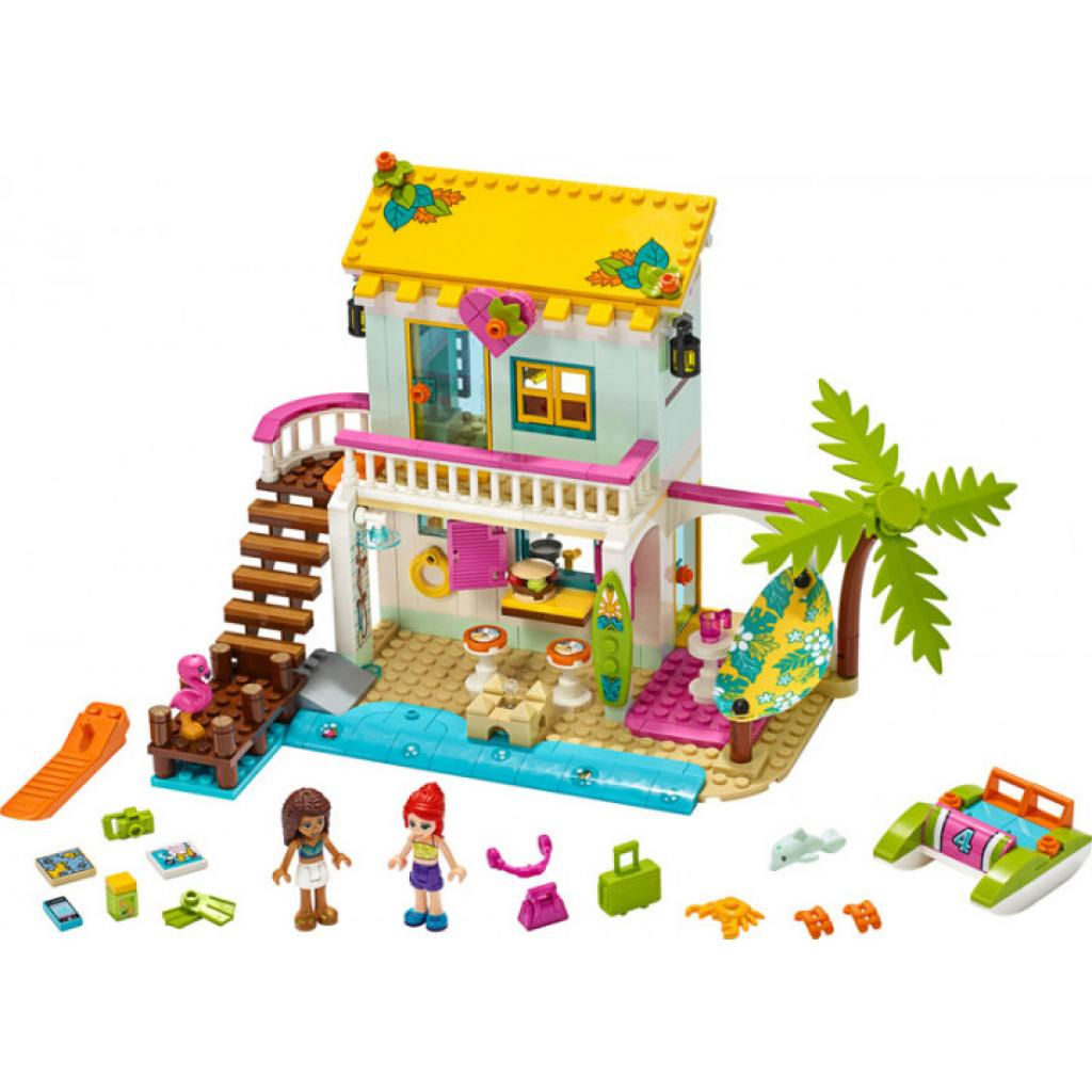 Конструктор LEGO Friends Пляжный домик 444 детали (41428) изображение 5