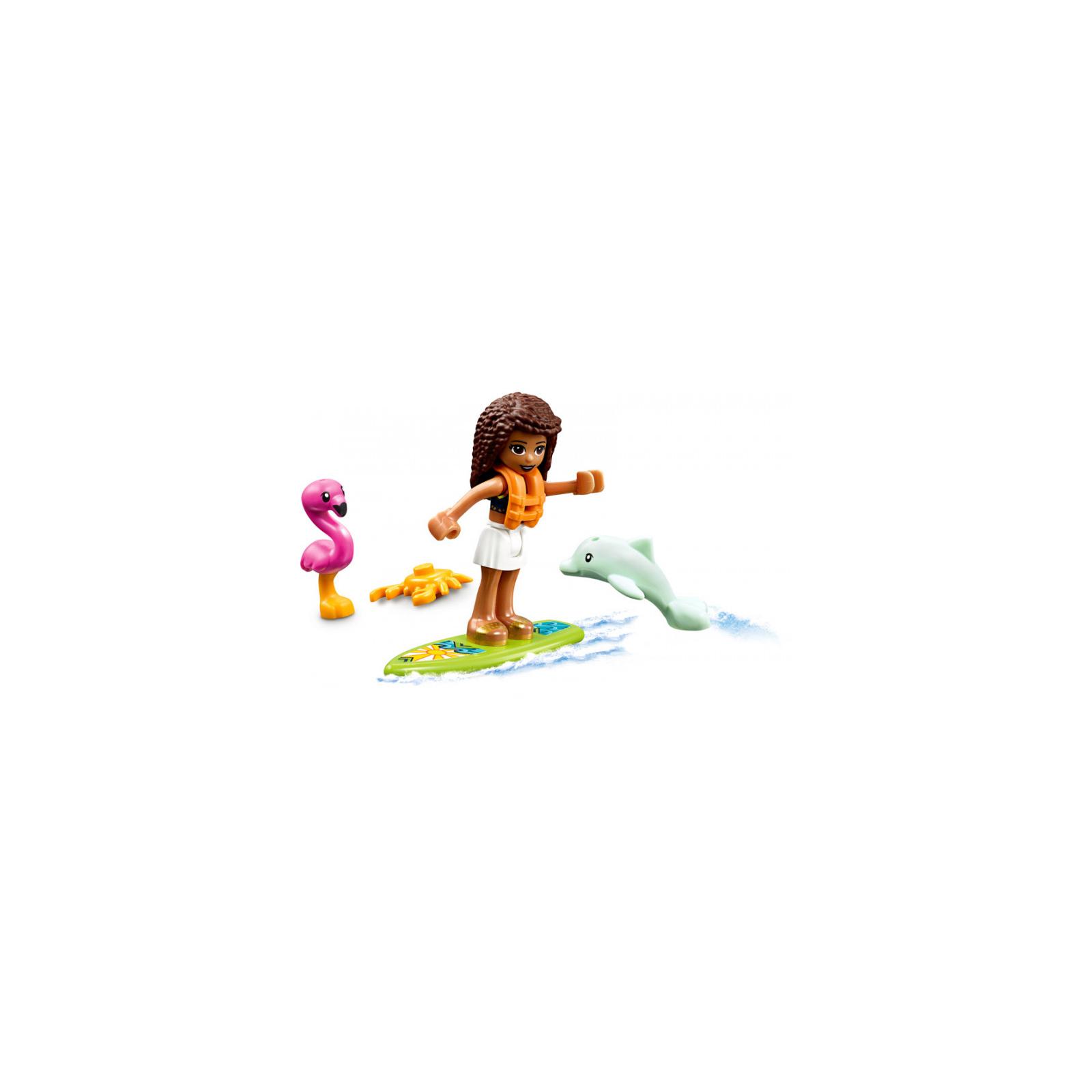 Конструктор LEGO Friends Пляжный домик 444 детали (41428) изображение 6