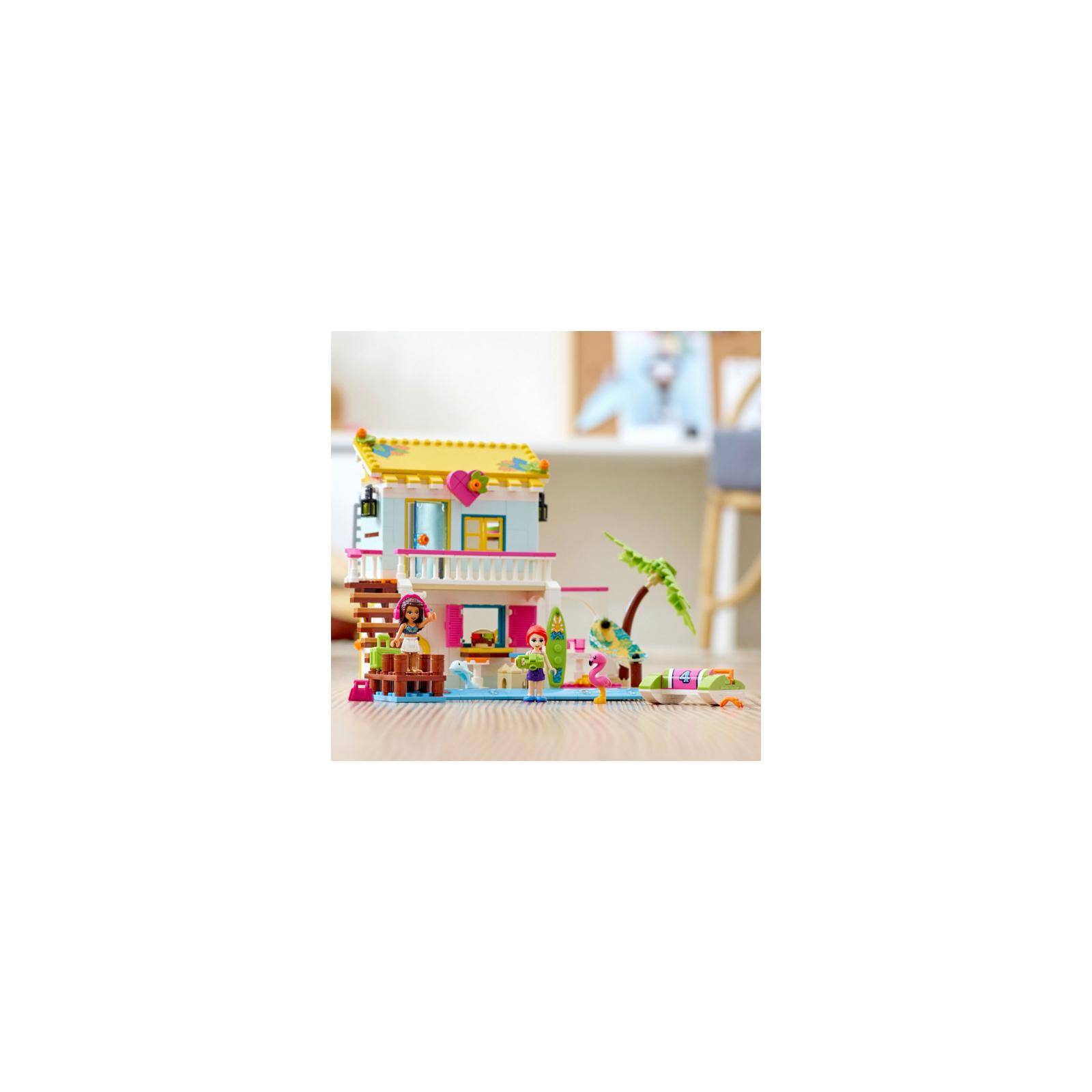 Конструктор LEGO Friends Пляжный домик 444 детали (41428) изображение 7