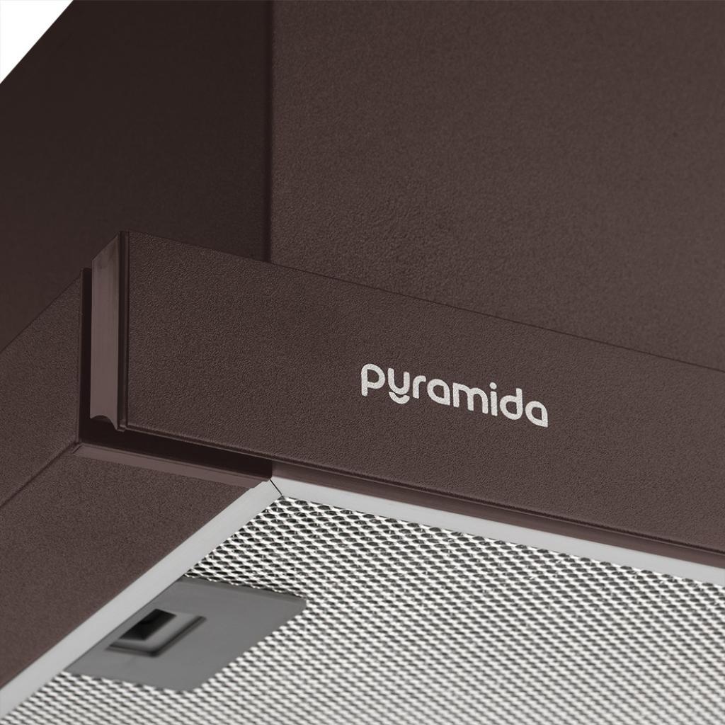 Вытяжка кухонная Pyramida TLX2-50 BR изображение 3