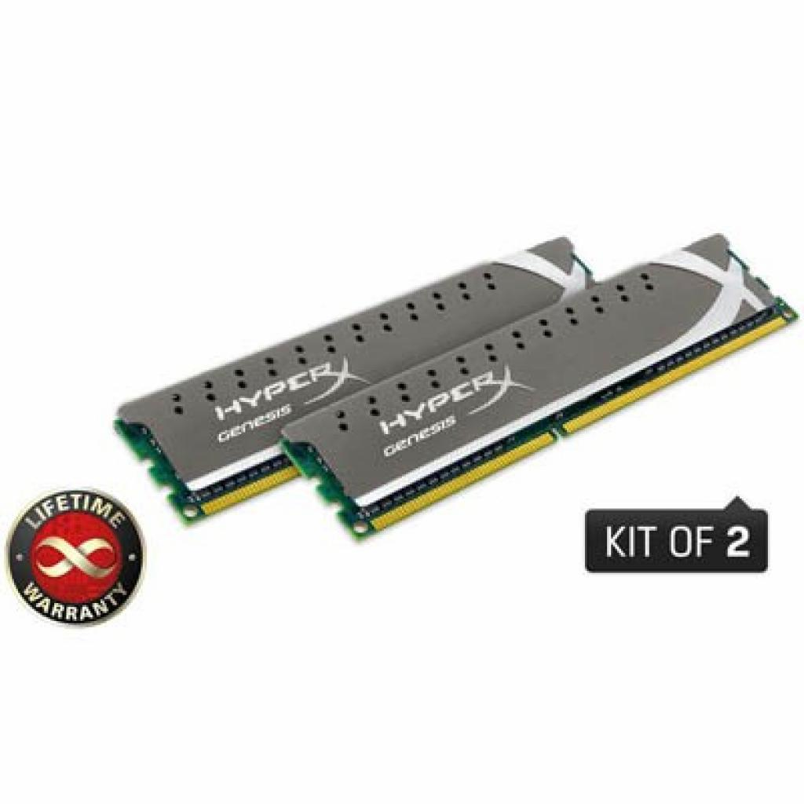 Модуль памяти для компьютера DDR3 8GB (2x4GB) 1600 MHz Kingston (KHX1600C9D3X2K2/8GX)