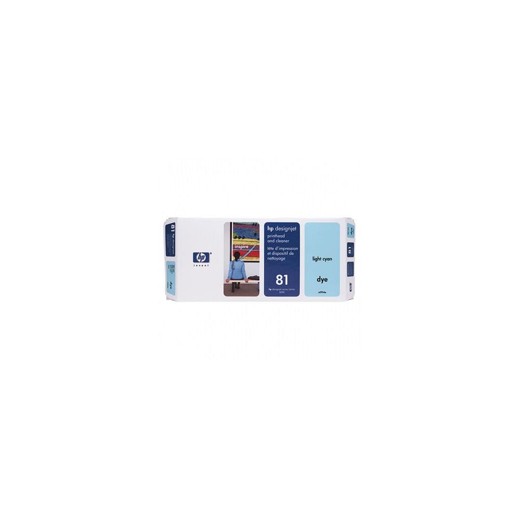 Печатающая головка HP №81 Lt cyan, DesignJ5000 (C4954A)
