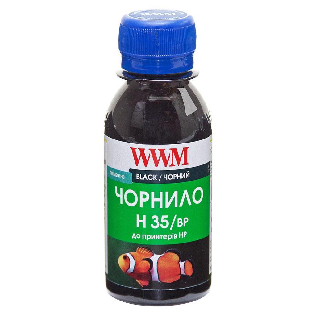 Чернила WWM HP № 21/121/129/130/132/140 BlackPg (H35/BP-2)