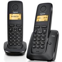 Телефон DECT Gigaset A120 DUO Black (L36852H2401S301)