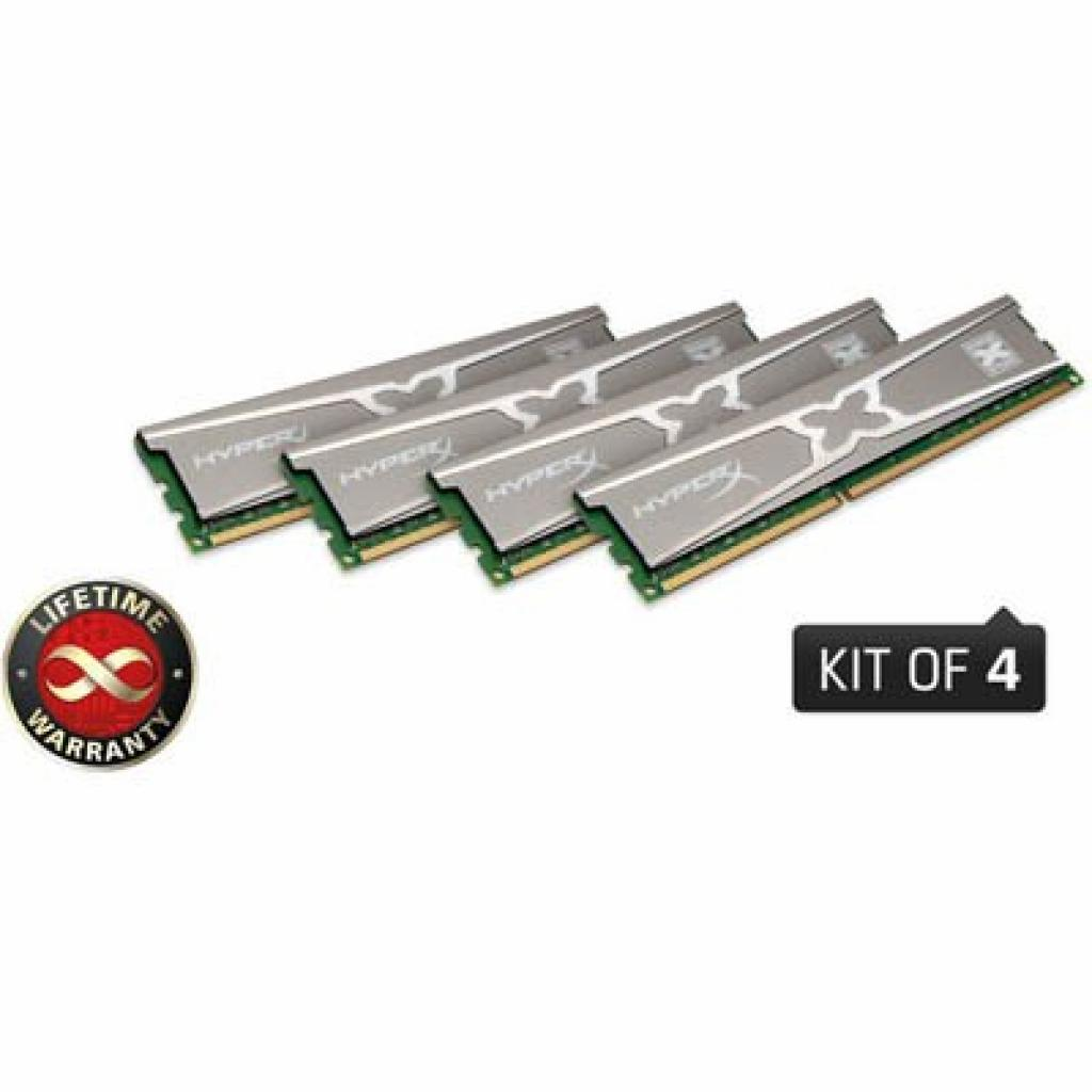 Модуль памяти для компьютера DDR3 16GB (4x4GB) 2133 MHz Kingston (KHX21C11X3K4/16X)