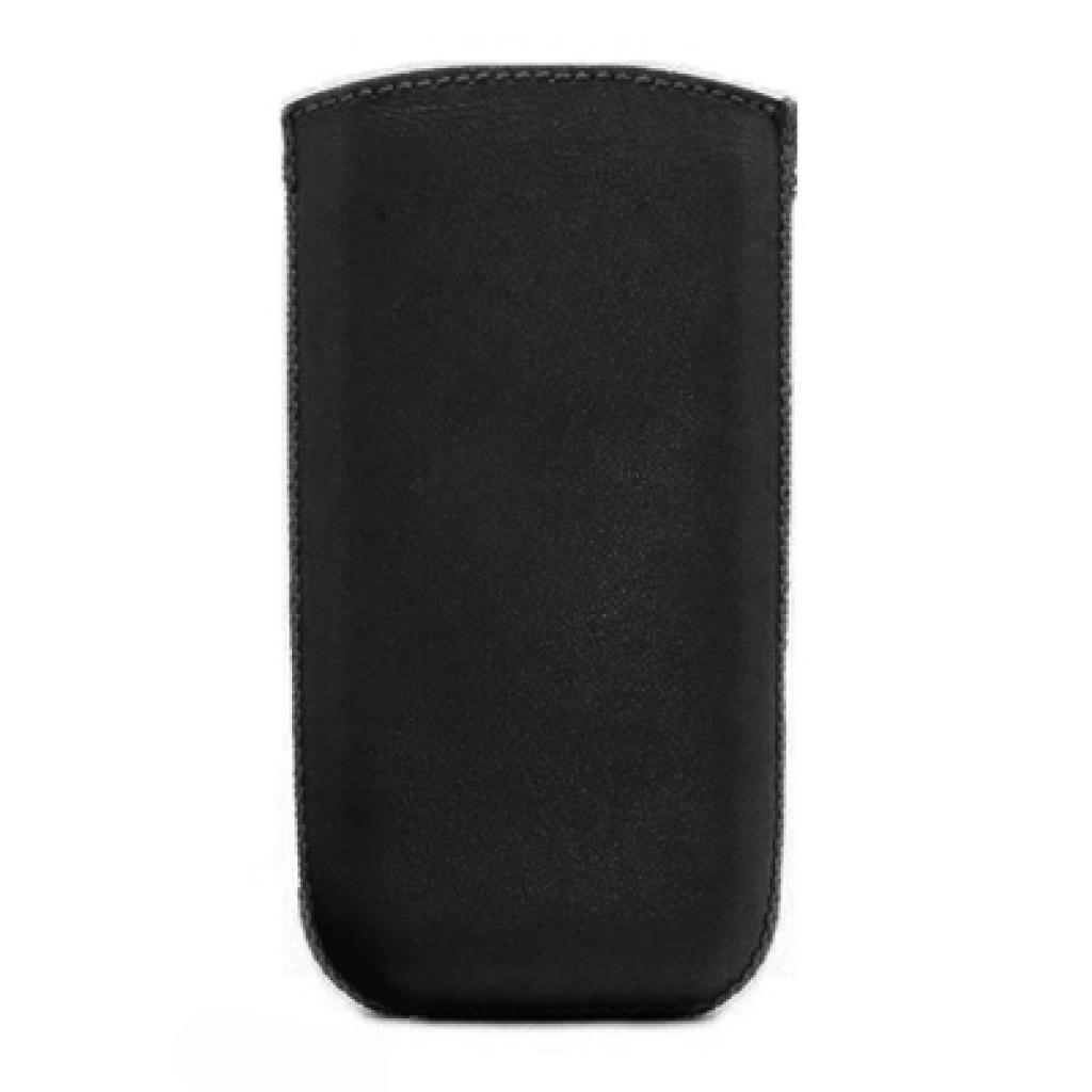 Чехол для моб. телефона ART Fly DS124 Leather Pouch Matte/black (00-00008232)