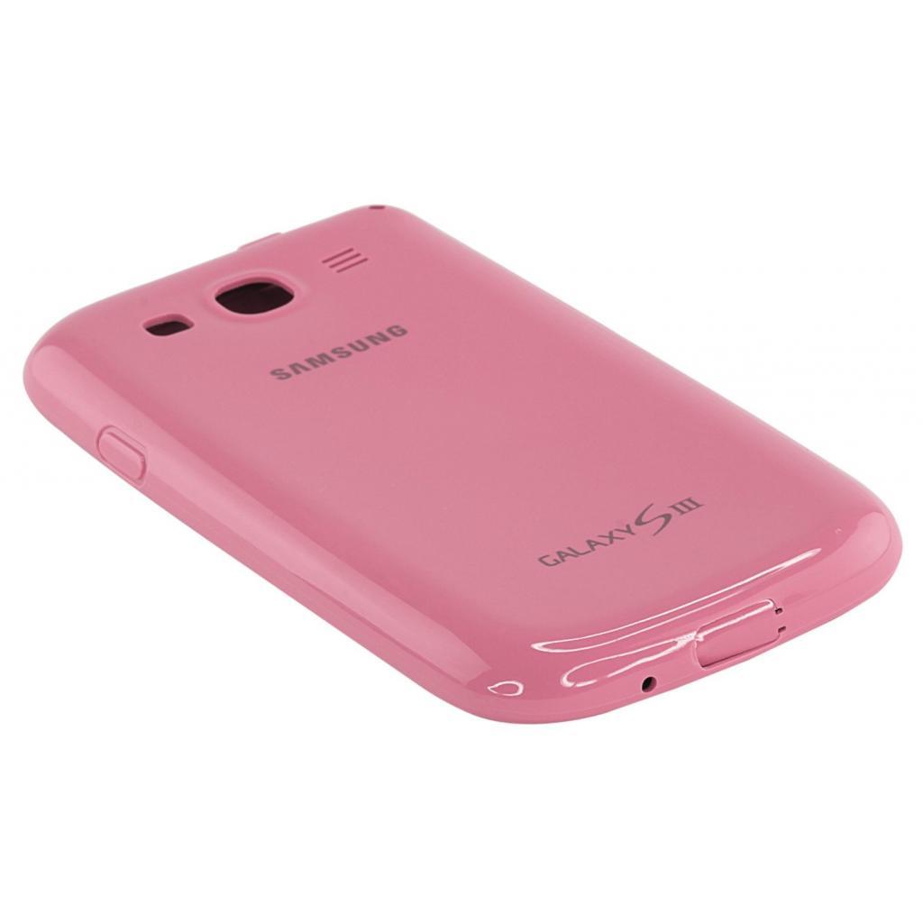 Чехол для моб. телефона Samsung I9300 Galaxy S3/Pink/накладка (EFC-1G6PPECSTD) изображение 3