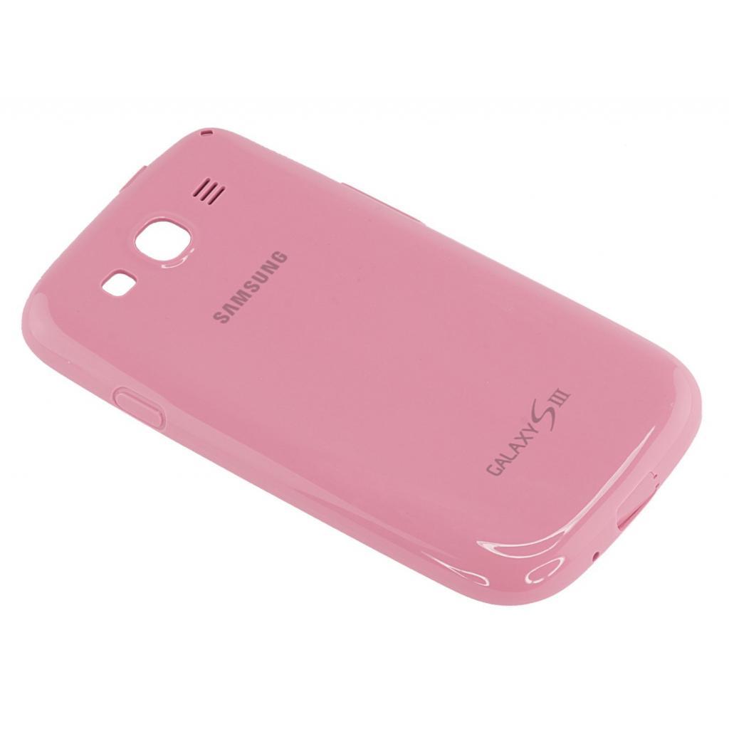 Чехол для моб. телефона Samsung I9300 Galaxy S3/Pink/накладка (EFC-1G6PPECSTD) изображение 5