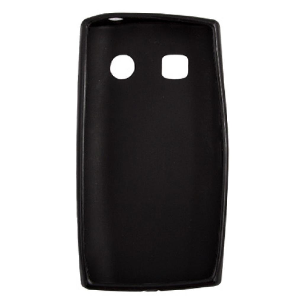 Чехол для моб. телефона Drobak для Nokia 500/ElasticPU/Black (216387) изображение 2
