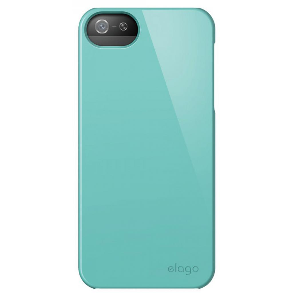 Чехол для моб. телефона ELAGO для iPhone 5 /Slim Fit 2 Glossy/Coral Blue (ELS5SM2-UVCBL-RT) изображение 3