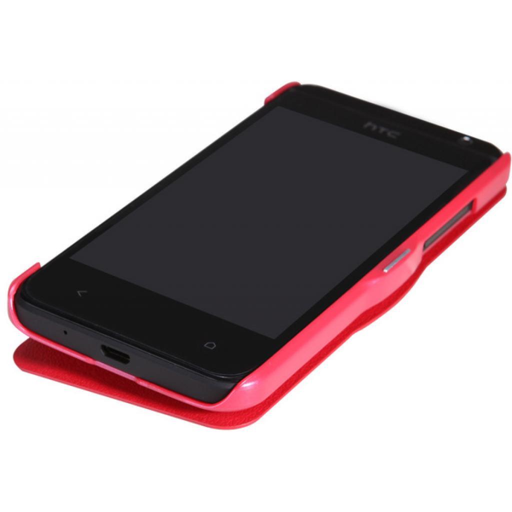 Чехол для моб. телефона NILLKIN для HTC Desire 300 /Fresh/ Leather/Red (6120402) изображение 3