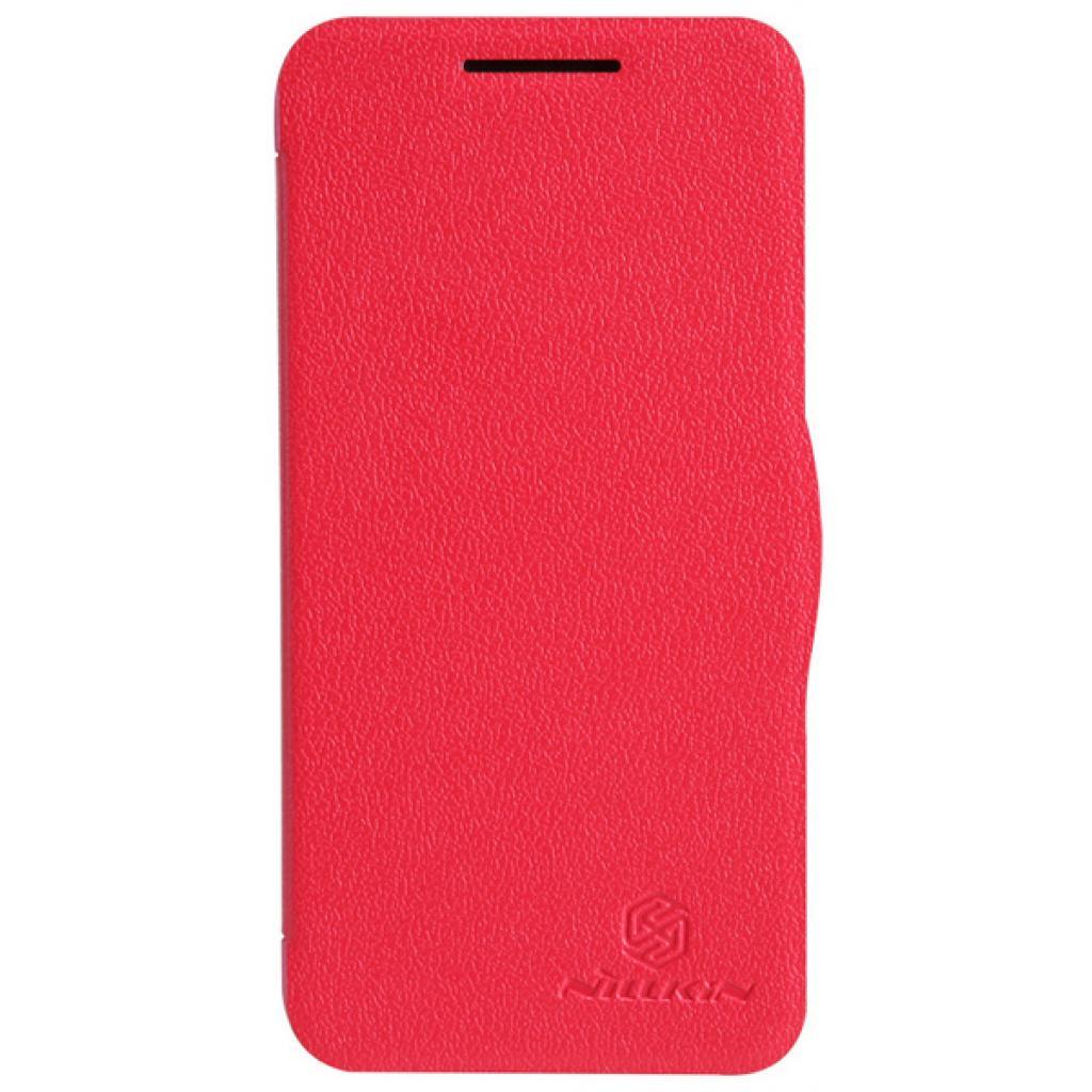 Чехол для моб. телефона NILLKIN для HTC Desire 300 /Fresh/ Leather/Red (6120402)
