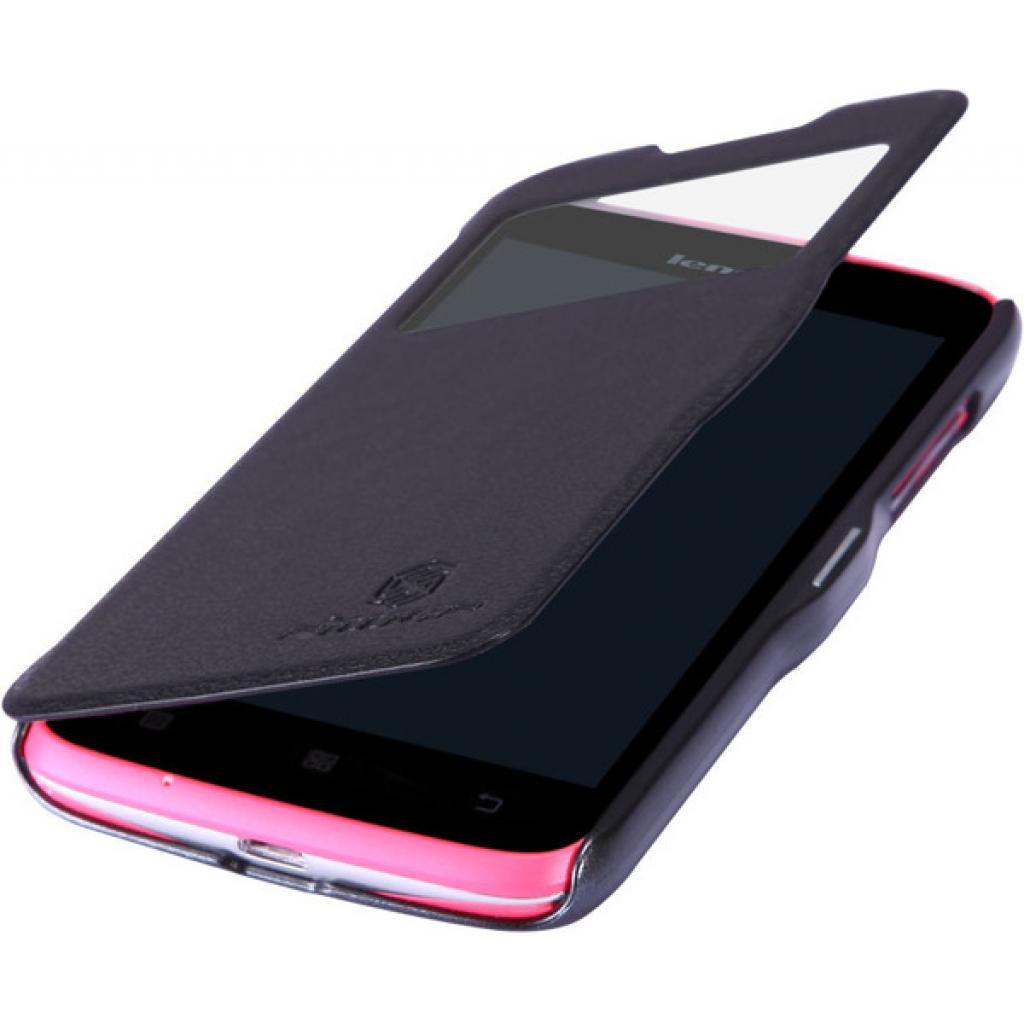 Чехол для моб. телефона NILLKIN для Lenovo A516 /Fresh/ Leather/Black (6116627) изображение 3