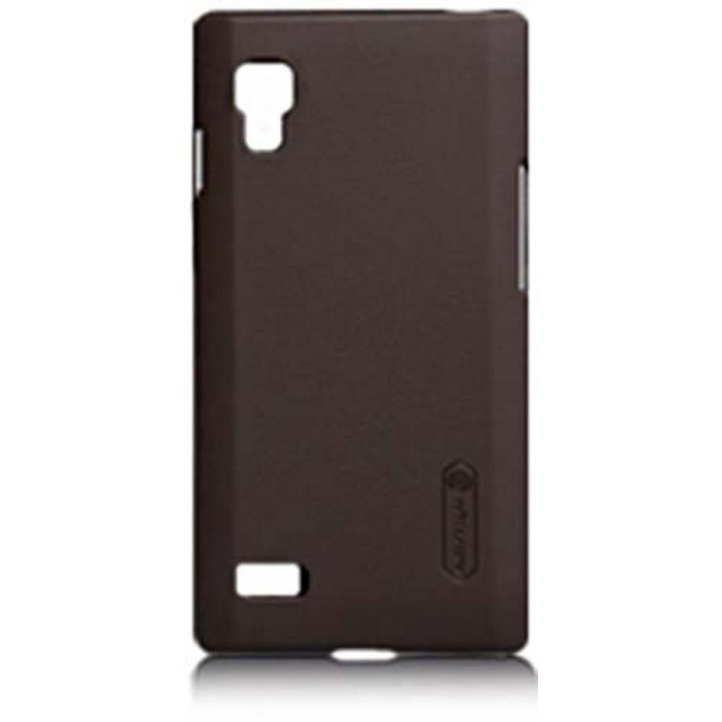 Чехол для моб. телефона NILLKIN для LG P765 L9 /Super Frosted Shield/Brown (6065761)
