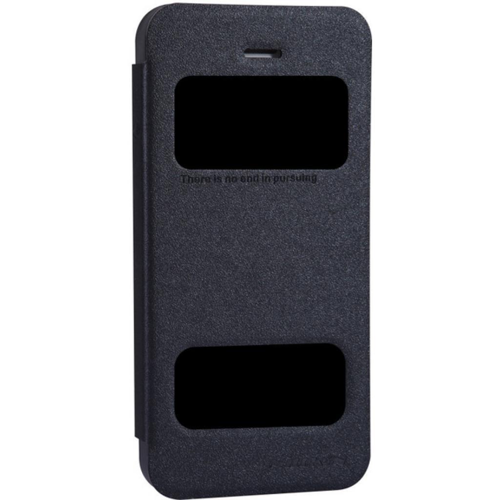 Чехол для моб. телефона NILLKIN для iPhone 5S /Spark/ Leather/Black (6164309) изображение 2