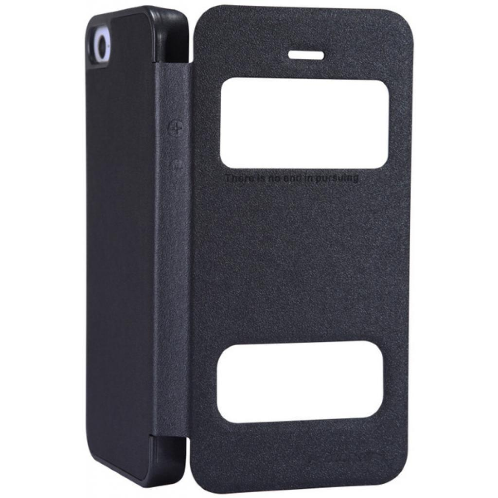 Чехол для моб. телефона NILLKIN для iPhone 5S /Spark/ Leather/Black (6164309) изображение 3