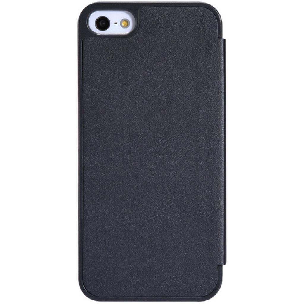 Чехол для моб. телефона NILLKIN для iPhone 5S /Spark/ Leather/Black (6164309) изображение 4