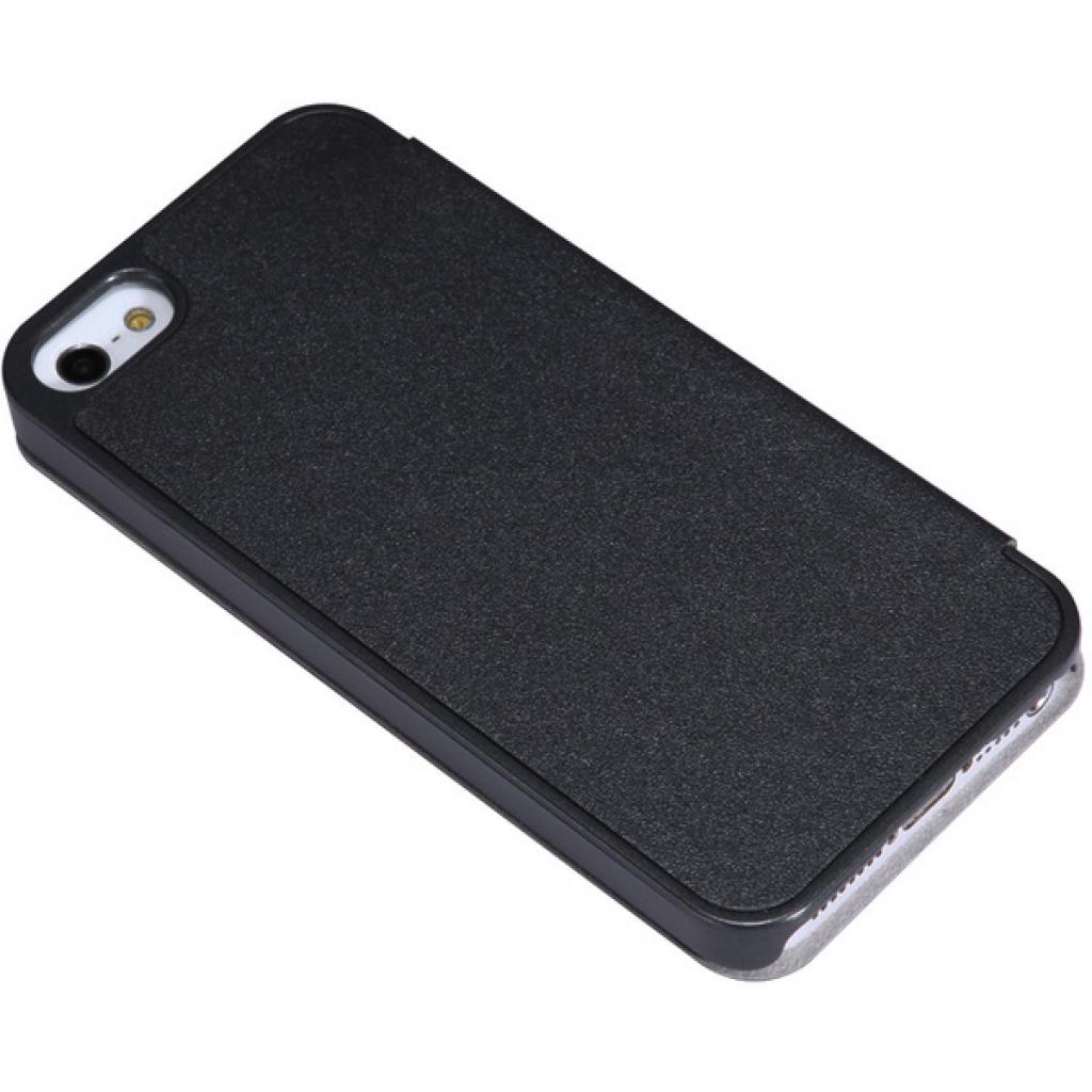 Чехол для моб. телефона NILLKIN для iPhone 5S /Spark/ Leather/Black (6164309) изображение 5
