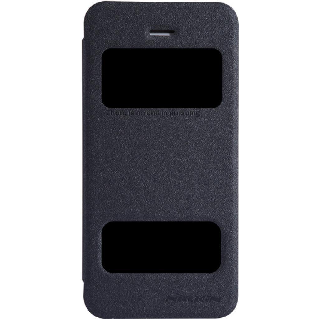 Чехол для моб. телефона NILLKIN для iPhone 5S /Spark/ Leather/Black (6164309)