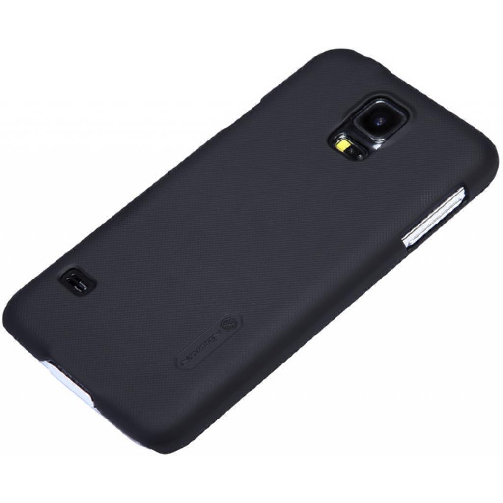Чехол для моб. телефона NILLKIN для Samsung G900/S-5/Super Frosted Shield/Black (6135227) изображение 2