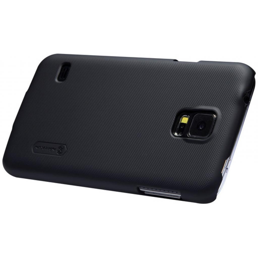 Чехол для моб. телефона NILLKIN для Samsung G900/S-5/Super Frosted Shield/Black (6135227) изображение 3