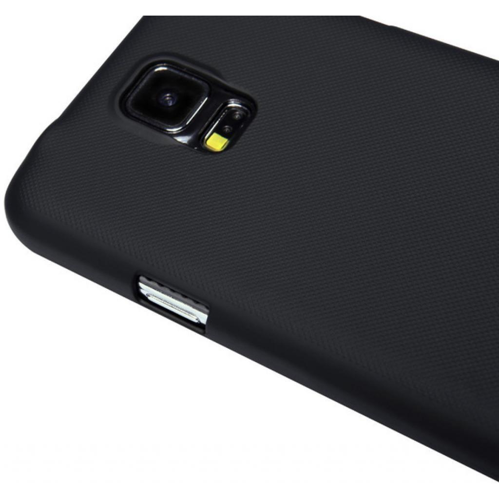 Чехол для моб. телефона NILLKIN для Samsung G900/S-5/Super Frosted Shield/Black (6135227) изображение 4