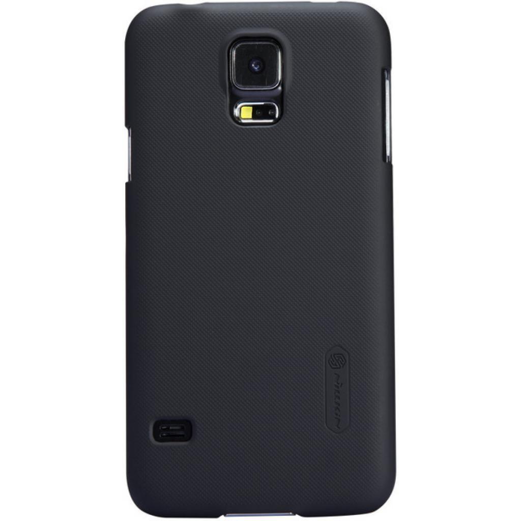 Чехол для моб. телефона NILLKIN для Samsung G900/S-5/Super Frosted Shield/Black (6135227)